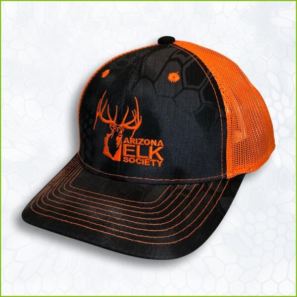 82e69ea71 AES Logo Kryptek Typhon Neon Orange Hat
